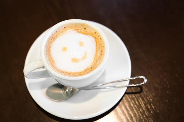 Caffe Latte cup
