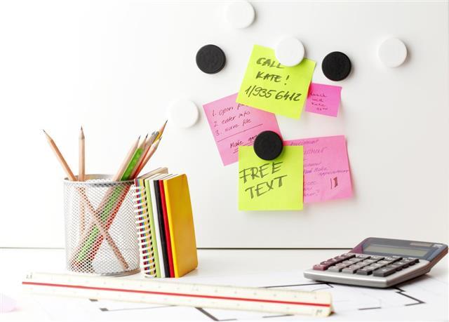 Office Desk Organization