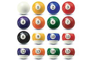 Billiard balls set