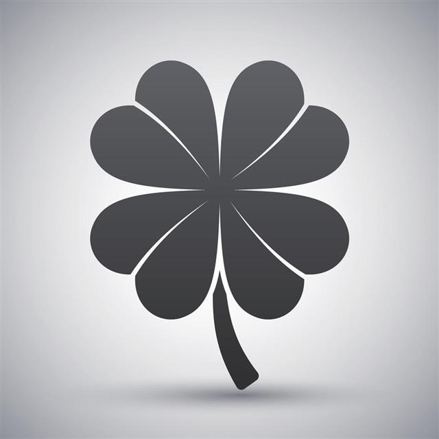 four-leaf clover symbol