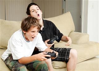 Video Gamer - Intensity