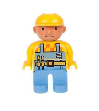 Bob the Builder Lego Duplo Minifigure