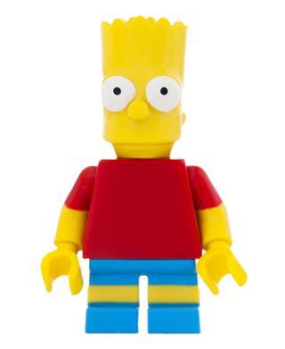 Lego Bart Simpson