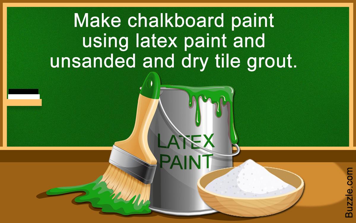 Chalkboard Paint Colors
