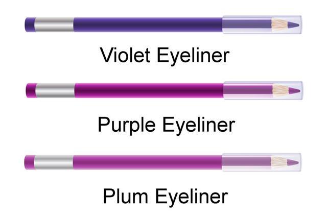 Set of eyeliners