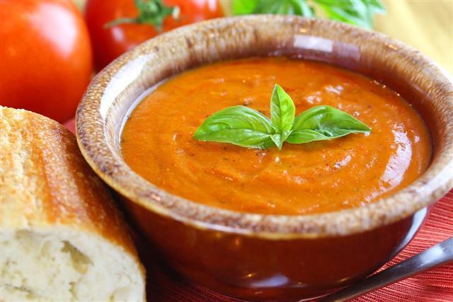Tomato Basil Soup???