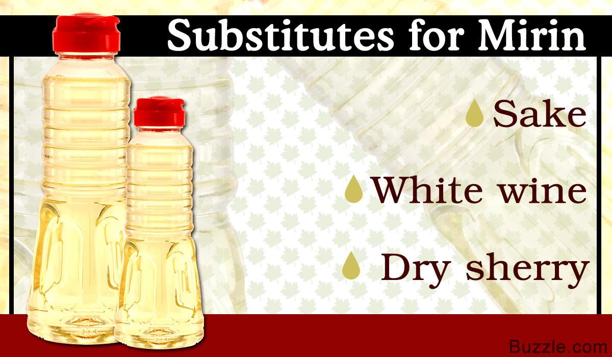 Mirin Substitutes