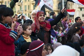 Egypt protest in Tahrir Square