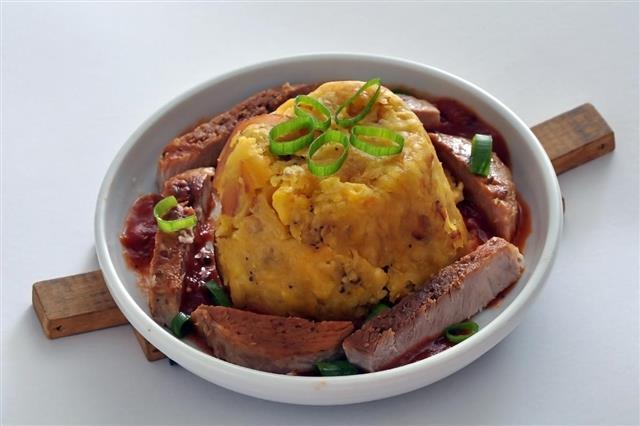 Bolivian Food Chairo pacenho