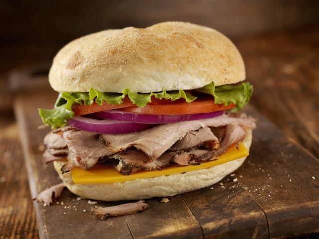 Roast Beef Sandwiches
