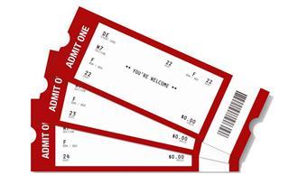 Ticket Sampler : Blank Event Tickets