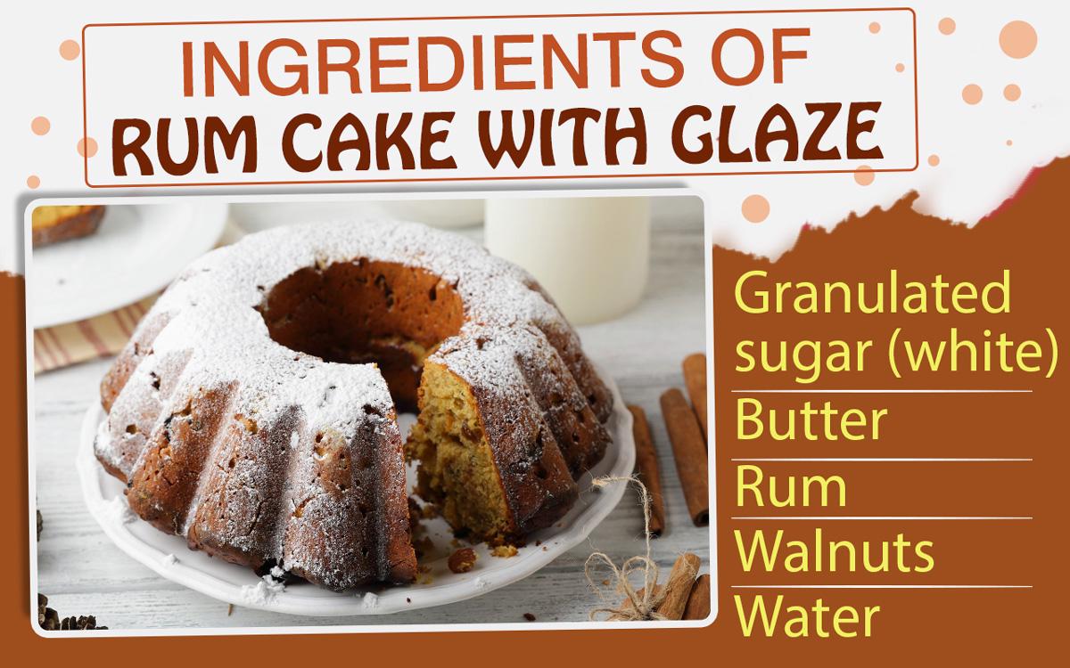 Rum Cake Glaze Recipe