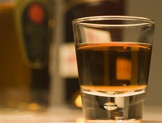 Shot of Rum