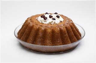 Cream Rum cake
