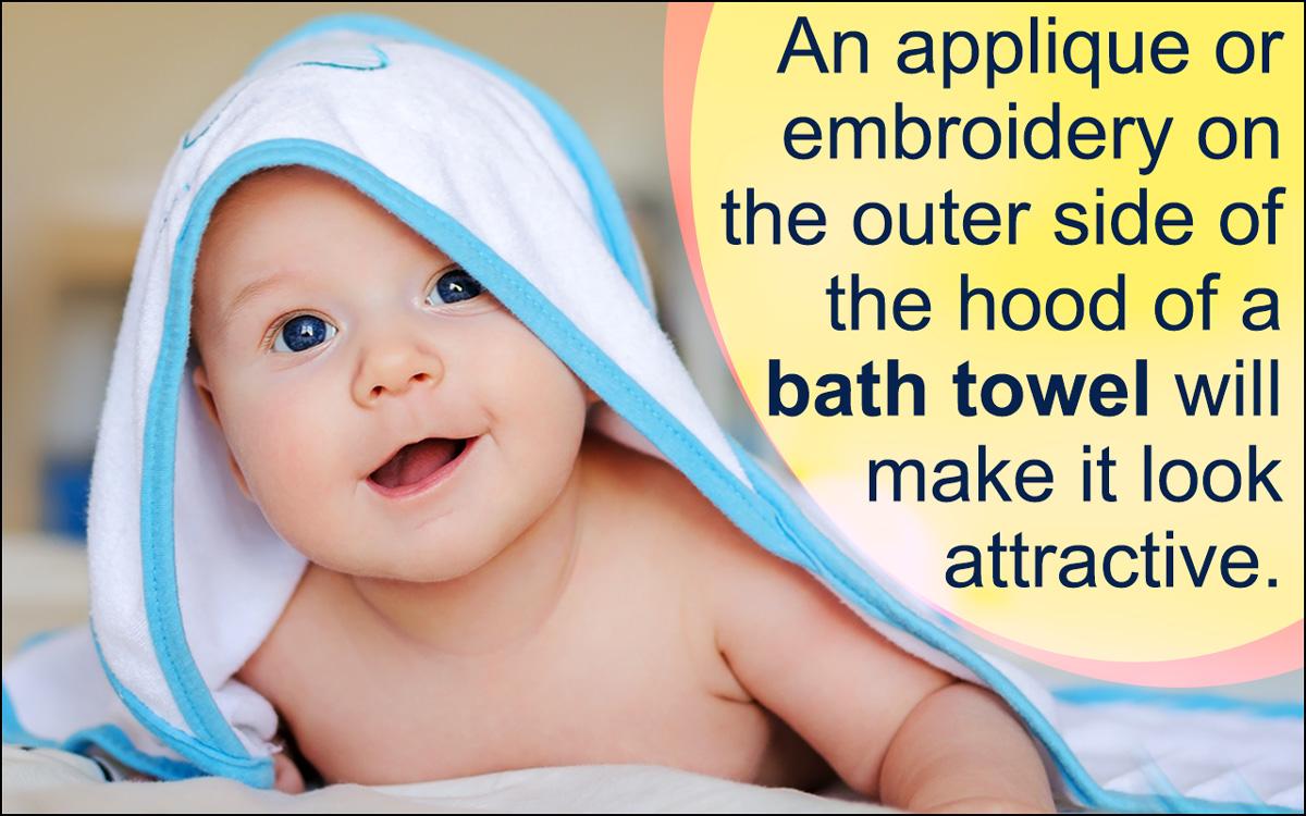 How to Make Hooded Bath Towels