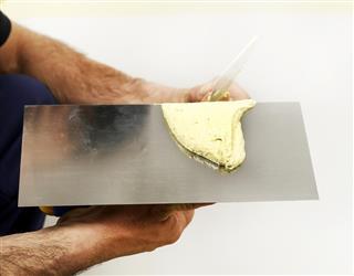 Plaster work tool