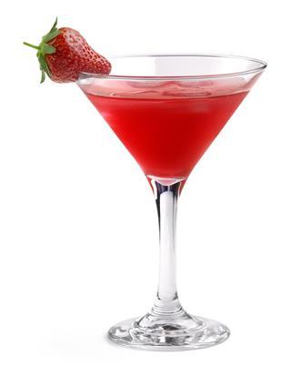 Strawberry Cheesecake Martini