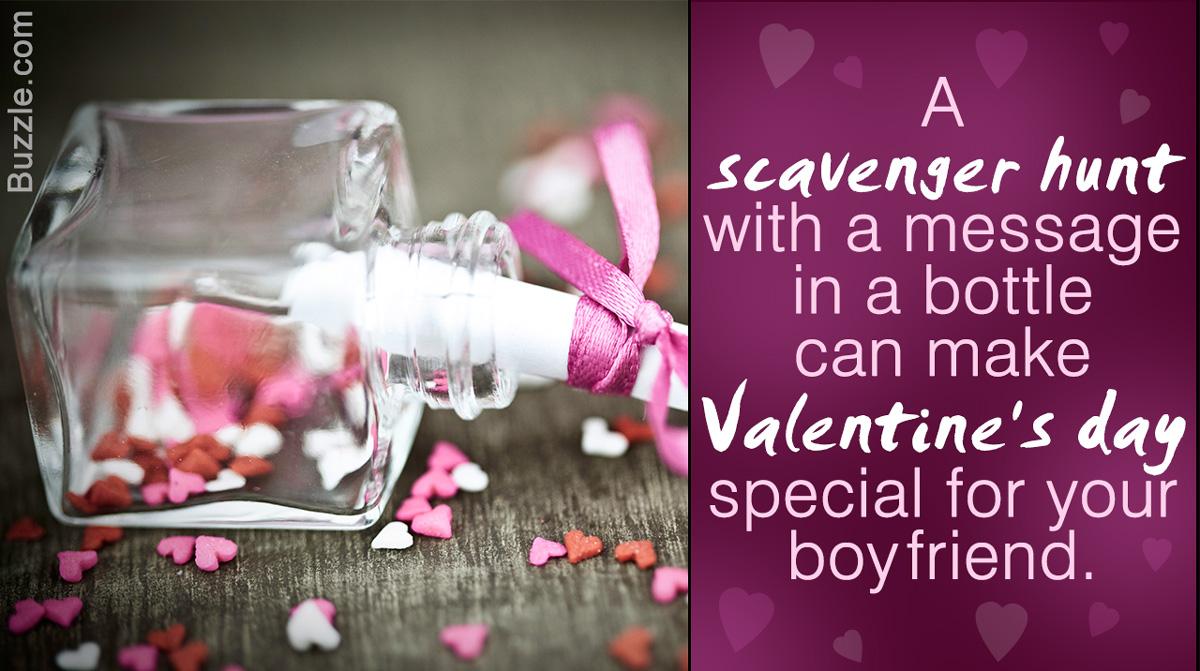 Scavenger Hunt Ideas for Boyfriend