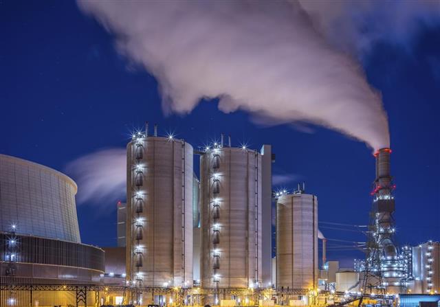 Power plant - energy industries