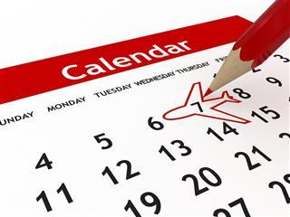Plan your schedule on weekdays