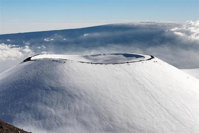 Crater,Mauna Kea