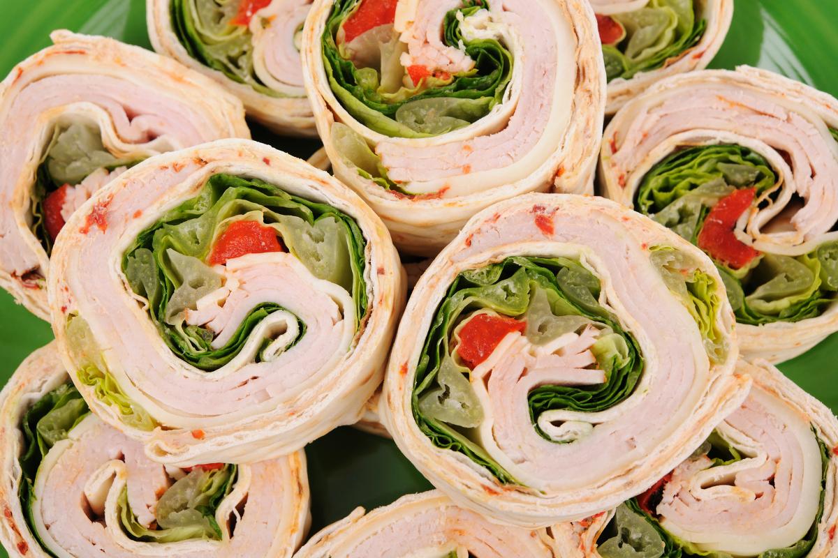 Turkey Tortilla Roll Ups