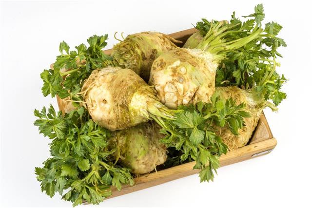 Celery in box