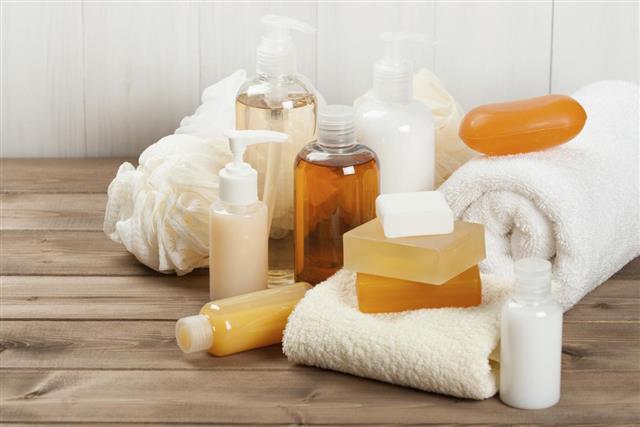 Soap Bar And Liquid. Shampoo, Shower Gel. Towels. Spa Kit.