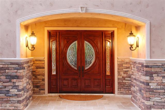 Luxury Home Front Door