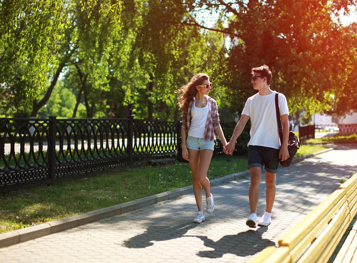 Dating walk