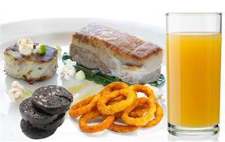 Contemporary Pork dish