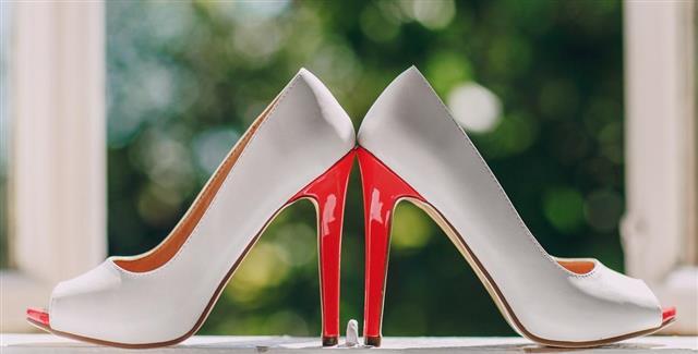 Dye Wedding Shoes