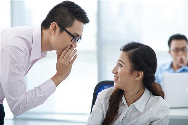 Gossiping in office