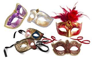Souvenirs Venetian Masks