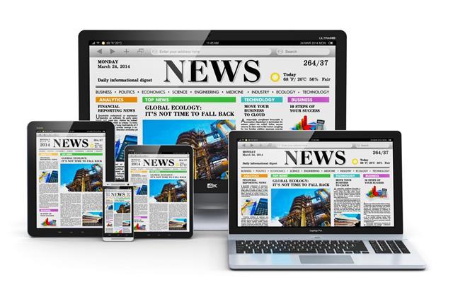 Newsletter online advertising