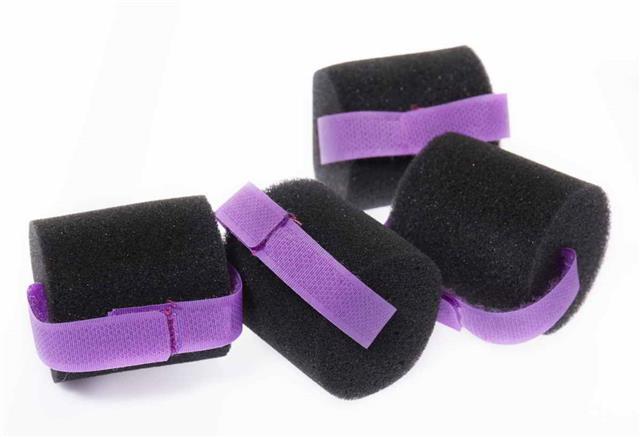 Sponge hair rollers
