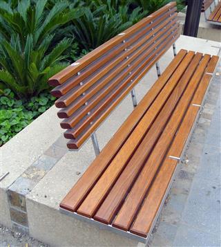 Jarrah Wooden bench