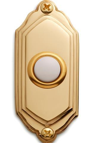 Yellow doorbell