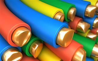 Colored Copper wires