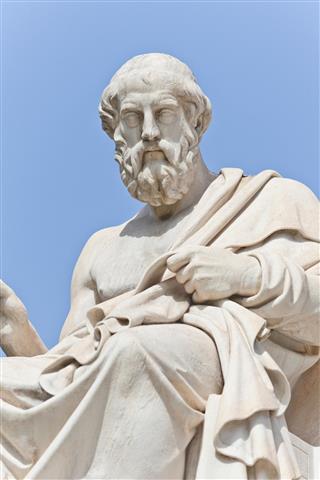 The ancient Greek philosopher Platon