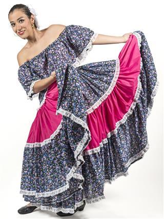 Mexican regional dancer