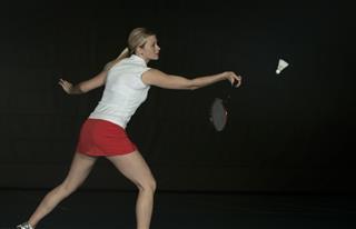 Badminton ??? forehand