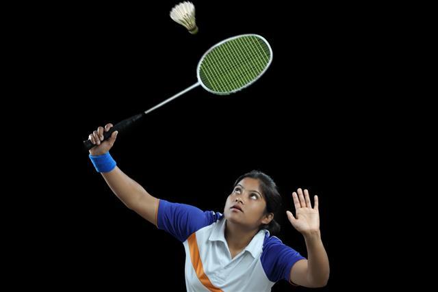 Badminton Player grip