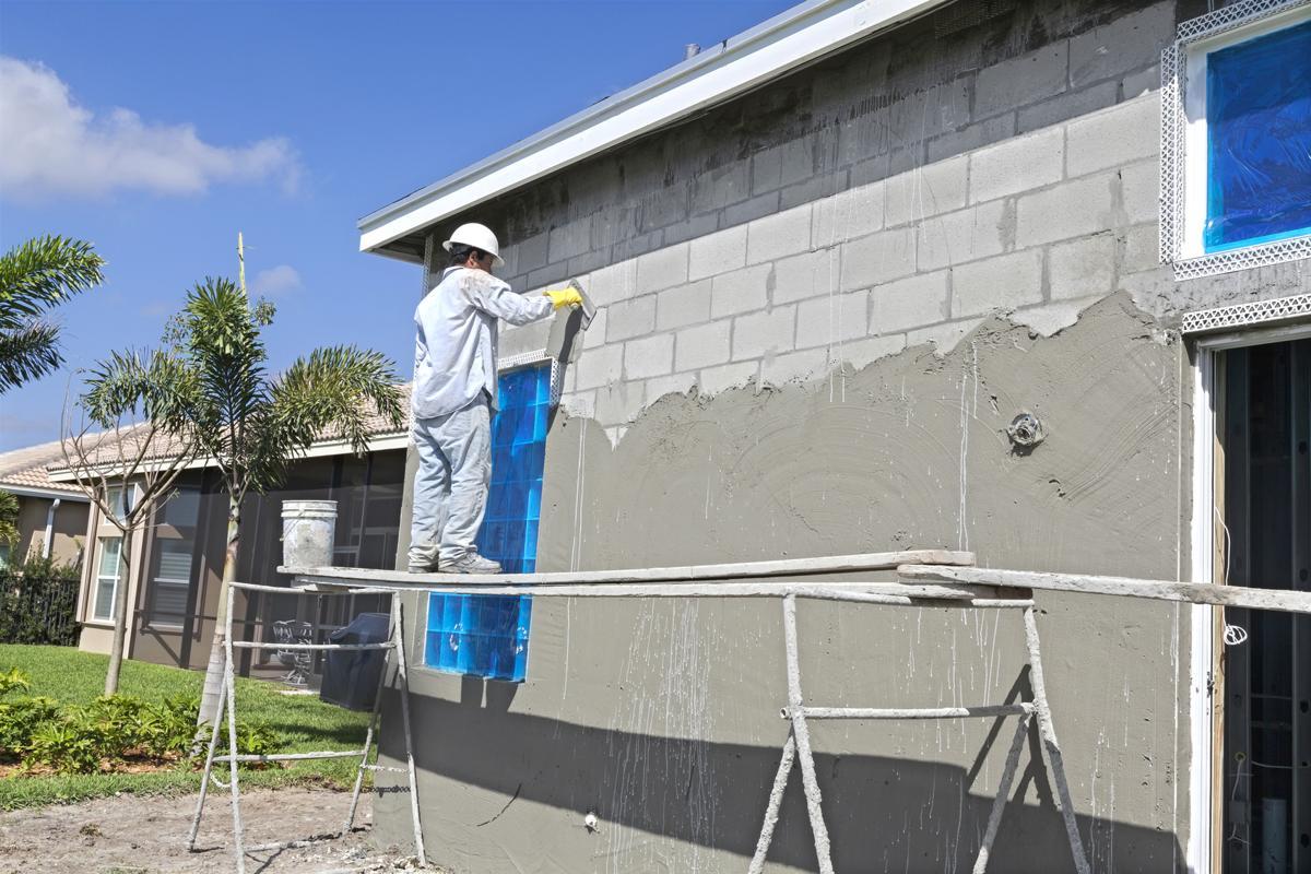 How to stucco a cinder block wall - How to stucco exterior cinder block walls ...