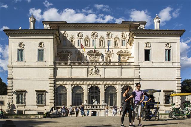 Galleria Borghese in Rome, Italy