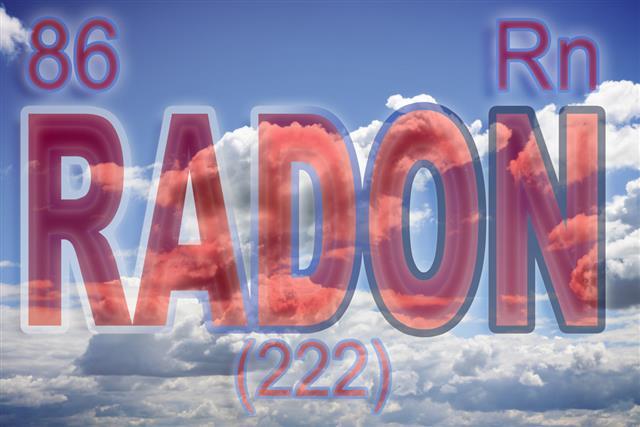 The danger of radon gas