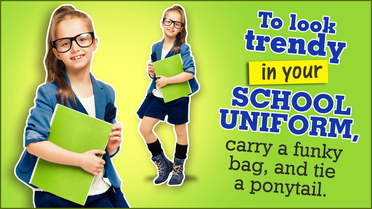 How to Look Pretty in Your School Uniform