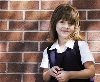 Little Girl Preschool Portrait