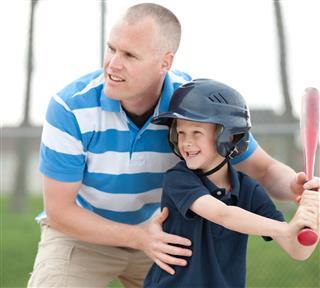 Baseball with Dad