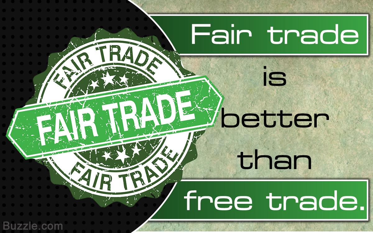 fair trade vs free trade Free trade, fair trade or no trade adam buick the world trade organisation negotiations in hong kong in december didn't get very far free trade v fair trade.